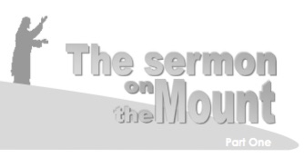 Sermon on the Mount part 1 sermon series image.